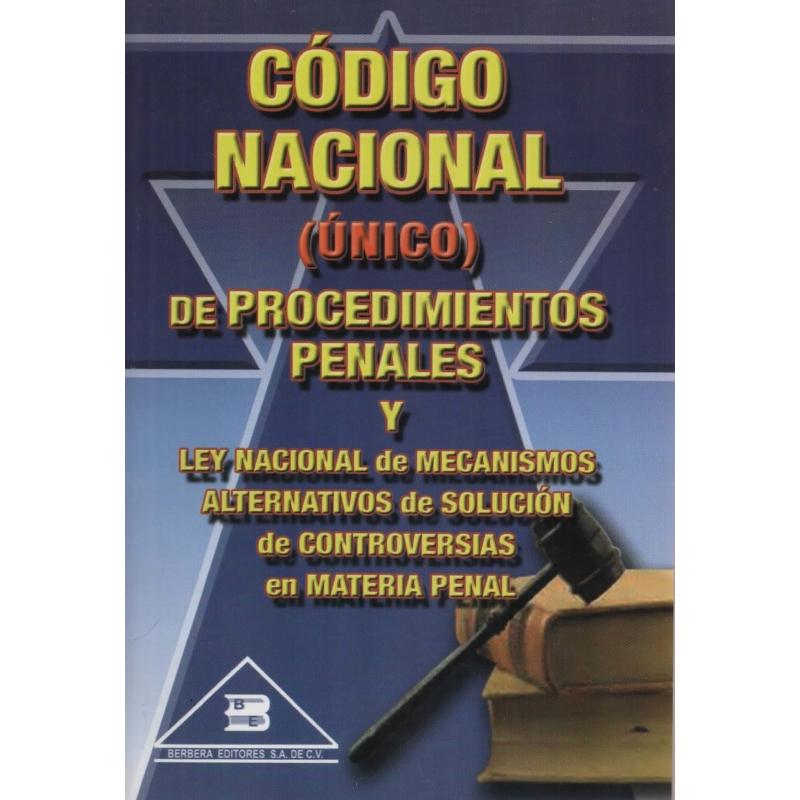 CÓDIGO NACIONAL  DE PROCEDIMIENTOS PENALES (ÚNICO)